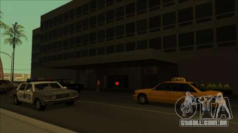 PS captadores perto de hospitais no estado para GTA San Andreas sexta tela