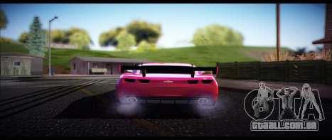 Temfan ENB para GTA San Andreas por diante tela