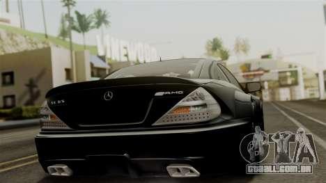 Mercedes-Benz SL65 E-Tuning para GTA San Andreas esquerda vista