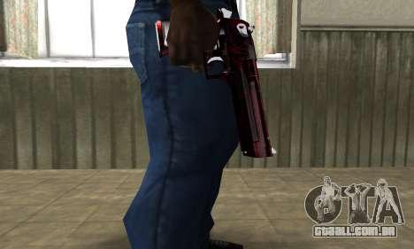 Redl Deagle para GTA San Andreas segunda tela