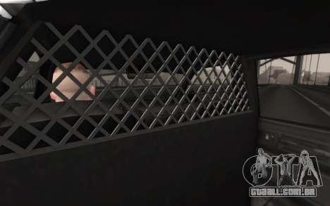 GTA 5 Stanier Police para GTA San Andreas vista direita