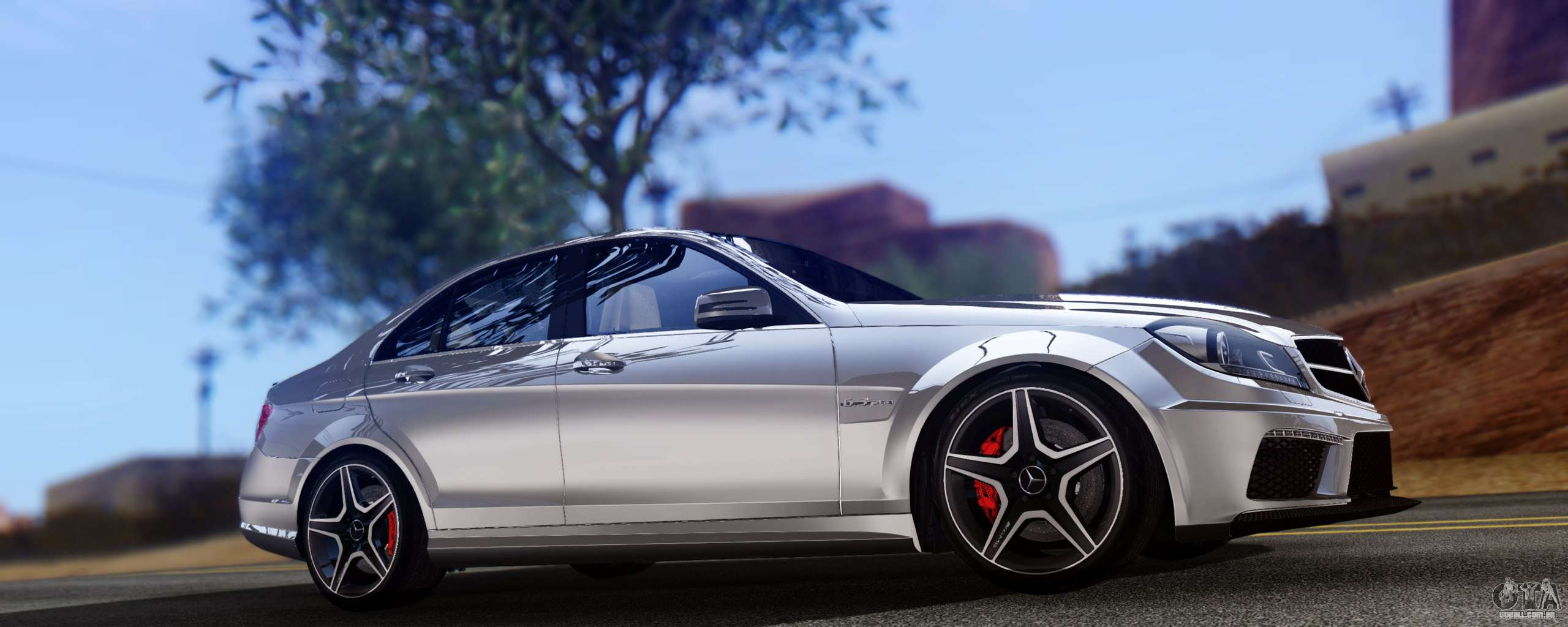 mercedes benz c63 amg 2013 para gta san andreas. Black Bedroom Furniture Sets. Home Design Ideas