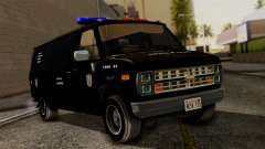 Chevrolet Chevy Van G20 Paraguay Police