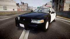 Ford Crown Victoria 2011 LAPD [ELS] rims1 para GTA 4