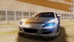 Mazda RX-8 Tuned Black Rock Shooter Itasha para GTA San Andreas