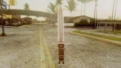 Iron Dagger para GTA San Andreas
