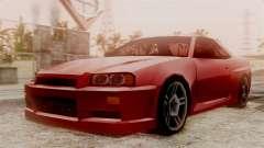 Nissan Skyline R34 SA Style para GTA San Andreas