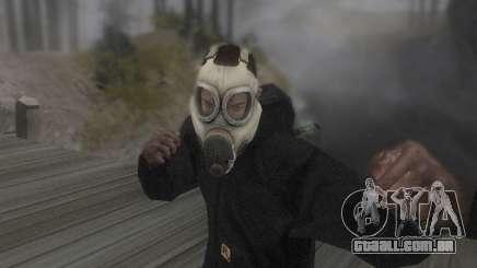A máscara é do DayZ Standalone para GTA San Andreas
