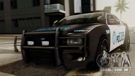 Hunter Citizen from Burnout Paradise Police LV para GTA San Andreas