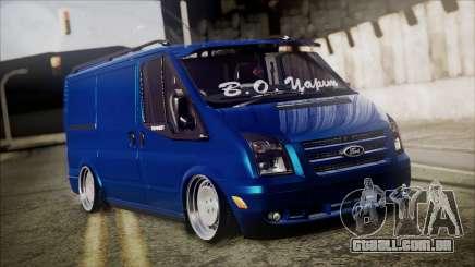 B. O. Ford Transit Construção para GTA San Andreas