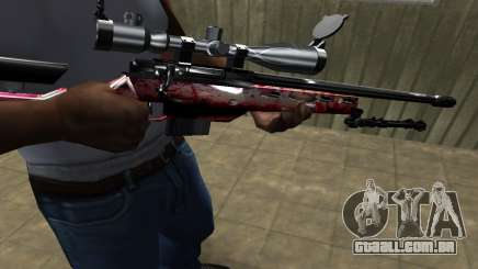 Redl Sniper Rifle para GTA San Andreas