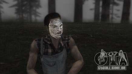 O Couro, máscara de rosto para GTA San Andreas