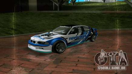 BMW M3 E46 ToyoTires GT-SHOP para GTA San Andreas