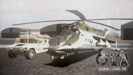 Mil Mi-24W Polish Land Forces para GTA San Andreas