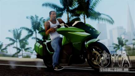 Dinka Vindicator GTA 5 Plate para GTA San Andreas