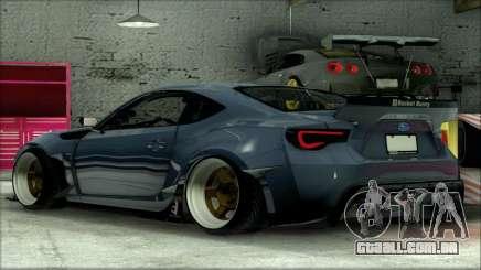 Subary BRZ Rocket Bunny para GTA San Andreas