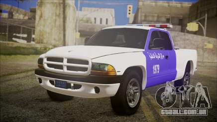 Dodge Dakota Iraqi Police para GTA San Andreas