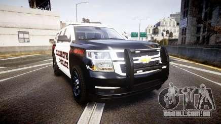 Chevrolet Tahoe 2015 Elizabeth Police [ELS] para GTA 4