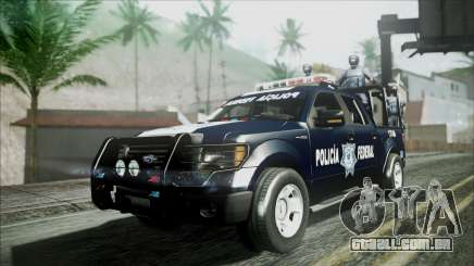 Ford Pickup Policia Federal para GTA San Andreas