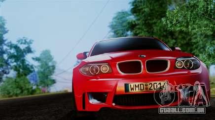 BMW 1M E82 v2 para GTA San Andreas