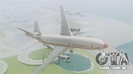 DC-10-30 Continental Airlines 1985 para GTA San Andreas