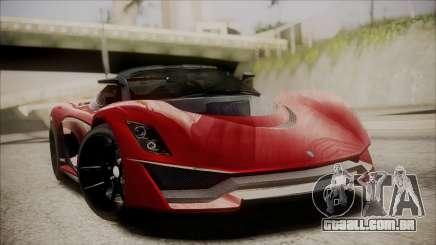 GTA 5 Grotti Turismo R IVF para GTA San Andreas
