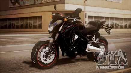 Honda CB650F Pretona para GTA San Andreas