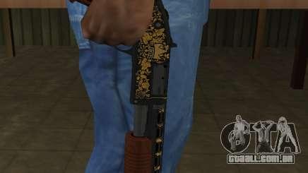 GTA 5 Sawed-Off Shotgun para GTA San Andreas