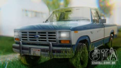 Ford F-150 1984 Final para GTA San Andreas