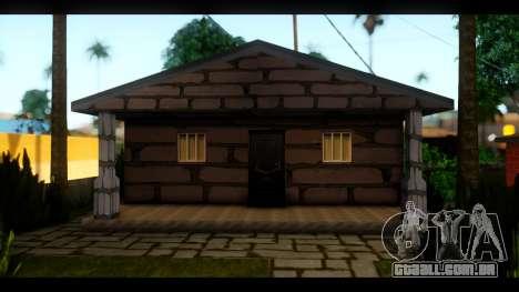 Novas texturas das casas ao redor grove Street para GTA San Andreas terceira tela