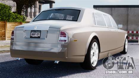 Rolls-Royce Phantom LWB para GTA 4 vista inferior