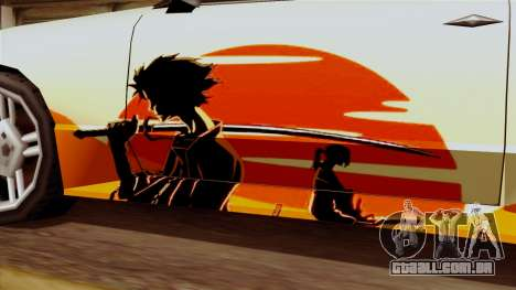 Vinil para Elegia - Deriva Samurai para GTA San Andreas vista direita