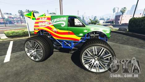 GTA 5 Vapid The Liberator The Legalizator vista lateral esquerda