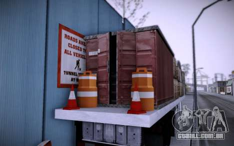 Edifício na Grove Street v0.1 Beta para GTA San Andreas