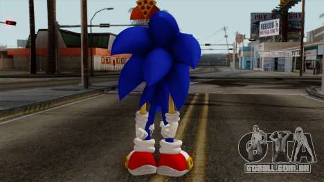 Sonic the Hedgehog HD para GTA San Andreas terceira tela