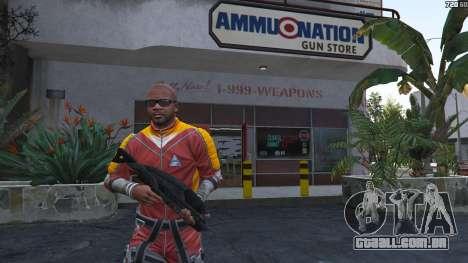 M-8 Avenger из Mass Effect 2 para GTA 5