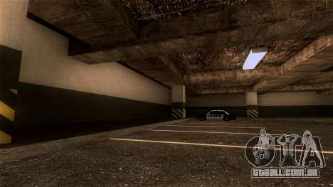 Novo LSPD Estacionamento para GTA San Andreas terceira tela