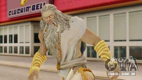 Zeus v1 God Of War 3 para GTA San Andreas