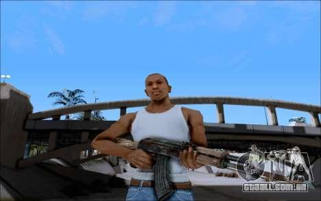 AK-47 Soviet para GTA San Andreas