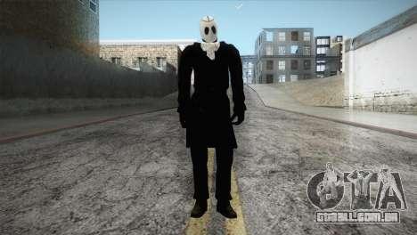 Franklyn Movie Skin para GTA San Andreas segunda tela