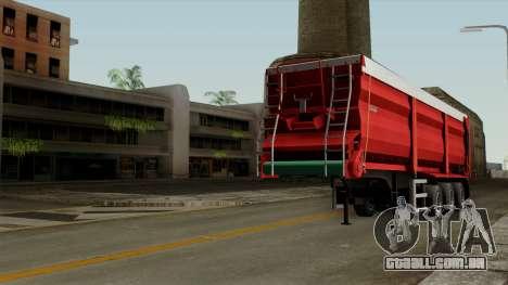 Krampe SB3060 para GTA San Andreas vista direita