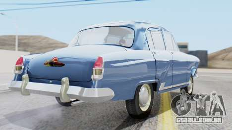 GAZ 21 Volga v1 para GTA San Andreas esquerda vista