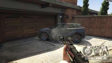 Battlefield 4 AK-12 para GTA 5