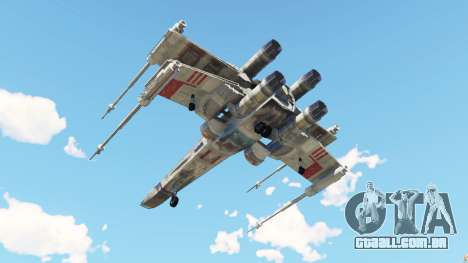 GTA 5 X-wing T-65 v1.1 quarto screenshot