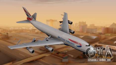 Boeing 747-200 British Airways para GTA San Andreas