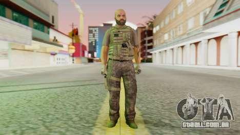 [GTA5] BlackOps2 Army Skin para GTA San Andreas segunda tela