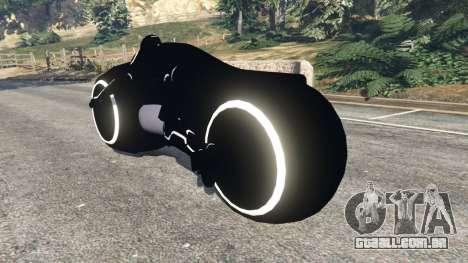 Tron Bike white para GTA 5