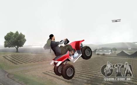 New Sky para GTA San Andreas sexta tela