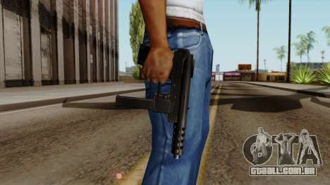 Original HD Tec9 para GTA San Andreas terceira tela