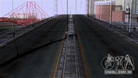 Roads Full Version LS-LV-SF para GTA San Andreas terceira tela